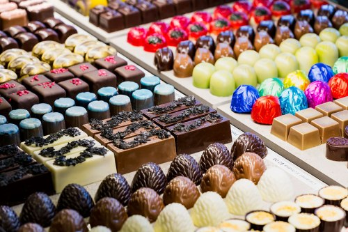 Mouth watering chocolate temptations
