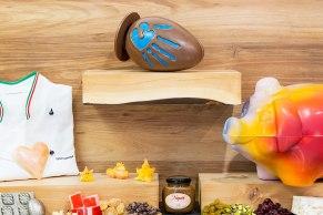Easter egg, piñata pig, undersea creations.