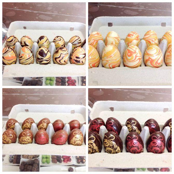 Filled Easter Eggs.